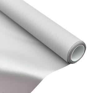 vidaXL fémbevonattal ellátott PVC vetítővászon-szövet 50
