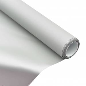 vidaXL fémbevonattal ellátott PVC vetítővászon-szövet 100