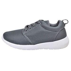vidaXL Női fűzős futó edző cipő szürke 36
