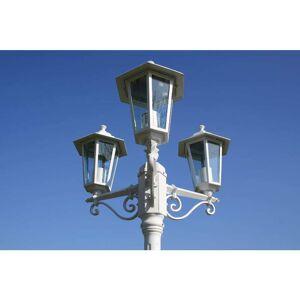 vidaXL Kingston Kültéri Lámpa 3 karú 215 cm Fehér