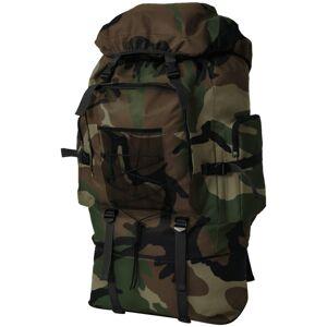 vidaXL katona stílusú hátizsák 100 XXL kamuflázs mintás
