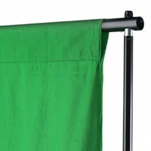 vidaXL zöld pamut háttér blueboxhoz 500 x 300 cm