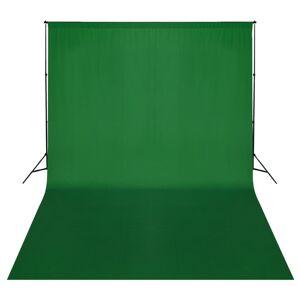 vidaXL zöld háttértartó állványrendszer 500 x 300 cm