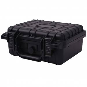 vidaXL fekete védőtáska 27 x 24,6 x 12,4 cm