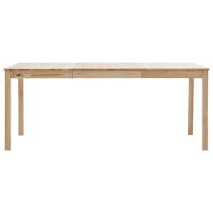 vidaXL fenyőfa étkezőasztal 180 x 90 x 73 cm