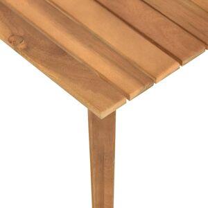 vidaXL tömör akácfa kerti dohányzóasztal 60 x 60 x 36 cm