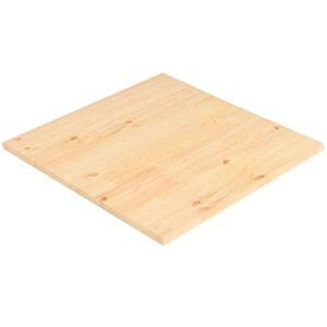 vidaXL négyzet alakú természetes fenyőfa asztallap 50 x 50 x 2,5 cm