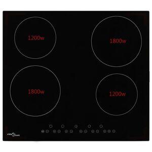 vidaXL 4-égős érintőpaneles kerámia főzőlap 6000 W