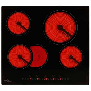 vidaXL 4-égős érintőpaneles kerámia főzőlap 6600 W