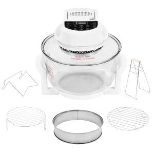 vidaXL konvekciós sütő hosszabbítóval és digitális időzítővel 17 L