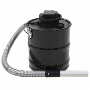 vidaXL HEPA-szűrős hamuporszívó 1000 W 20 L fekete