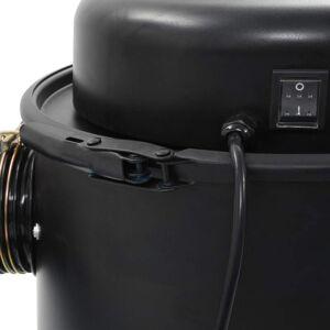 vidaXL fekete porgyűjtő adapterkészlet 1100 W
