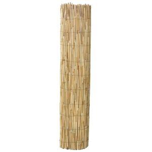 vidaXL kerti nádkerítés 500 x 125 cm