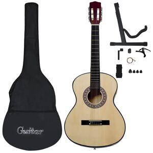 vidaXL 12 darabos klasszikus gitár kezdőkészlet 4/4 39