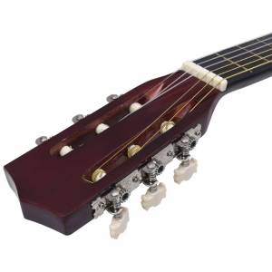 vidaXL klasszikus hársfa gitár kezdőknek és gyerekeknek 3/4 36