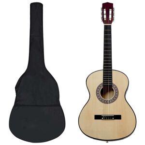 vidaXL 8 darabos klasszikus gitár gyerek- és kezdőszett 3/4 36