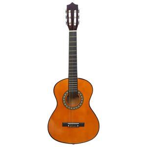 vidaXL klasszikus hársfa gitár kezdőknek és gyerekeknek 1/2 34