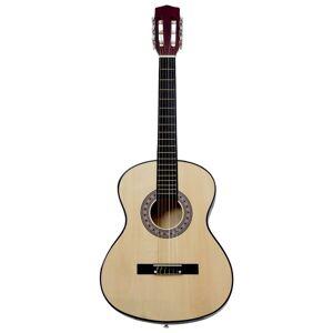 vidaXL 3/4-es klasszikus gitár és tok kezdőknek 36