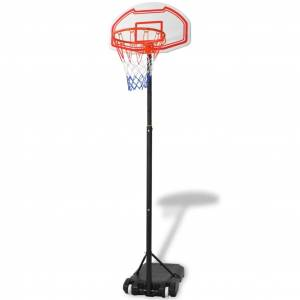 vidaXL hordozható kosárlabda palánk 250 cm