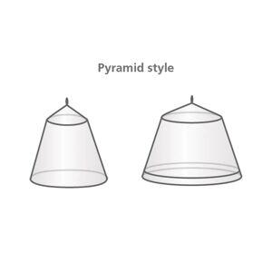 Travelsafe 2 személyes piramis alakú szúnyogháló