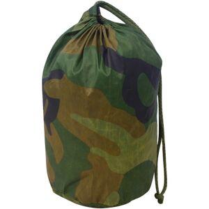 vidaXL kamuflázs háló zsákkal 4 x 4 m