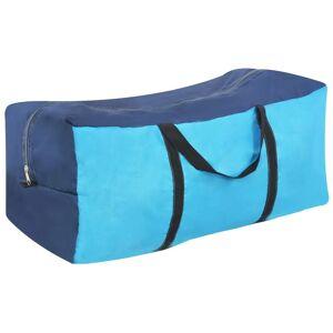 vidaXL kék kempingsátor felfújható rudakkal 320 x 170 x 150/110 cm