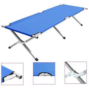 vidaXL kék XL kempingágy 190 x 74 x 47 cm