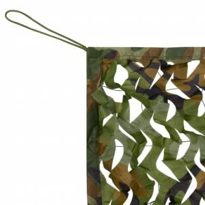vidaXL kamuflázs háló zsákkal 1,5x3 m
