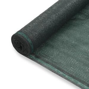 vidaXL zöld HDPE teniszháló 1,4 x 50 m