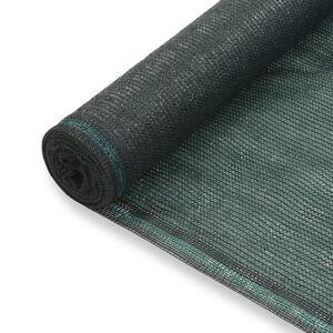 vidaXL zöld HDPE teniszháló 1,6 x 50 m