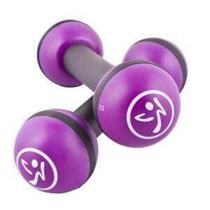 Zumba 2 db lila alakformáló súlyzó 1 kg ZUM011