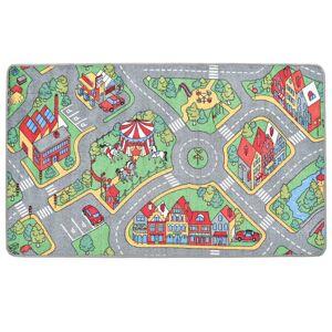 vidaXL városi utcákat ábrázoló játszószőnyeg 170 x 290 cm