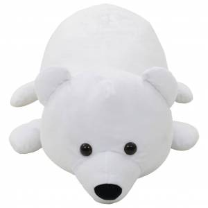 vidaXL fehér jegesmedve plüssjáték