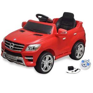 vidaXL Mercedes Benz ML350 Elektromos kisautó távirányítóval 6 V piros
