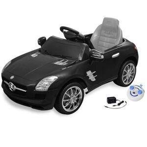 vidaXL Mercedes Benz SLS AMG Elektromos kisautó távirányítóval 6 V fekete