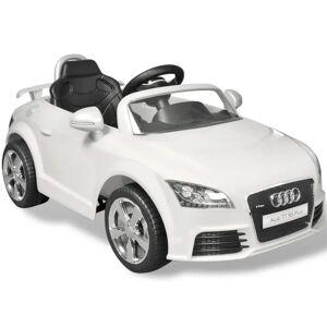 vidaXL Audi TT RS elektromos kisautó távirányítóval fehér