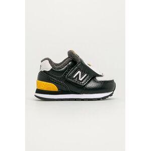 New Balance - Gyerek cipő IV574AQP fekete 20