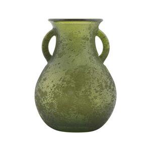 Mauro Ferretti Anfora zöld váza újrahasznosított üvegből, ⌀ 11,5 cm - Mauro Ferretti