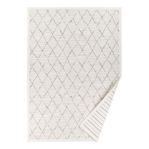 Narma Vao fehér mintás kétoldalas szőnyeg, 70 x 140 cm - Narma
