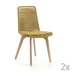 La Forma Glendon mustársárga szék, 2 db - La Forma