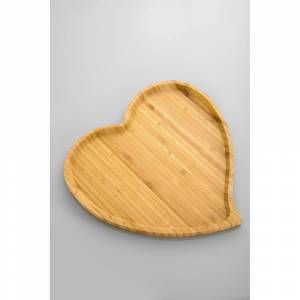 Bonami Amor előételes bambusz tál, 27 cm - Bambum