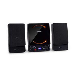 Auna Microstar, mikrorendszer, vertikális rendszer, CD lejátszó, bluetooth, USB port, távirányító