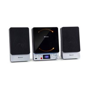 Auna Microstar, mikrorendszer, CD lejátszó, bluetooth, USB port, távirányító