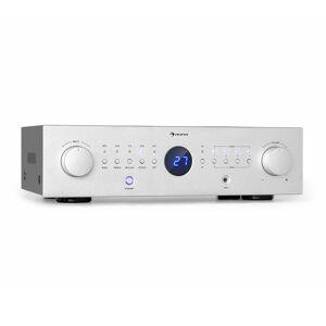Auna AMP-CD950 DG, digitális többcsatornás erősítő, 8 x 100 W, BT, opt. bemenet, távirányító