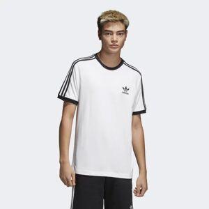 Adidas Férfi Pólo Adidas 3-Stripes Tee White