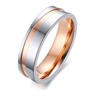 IZMAEL Faith Férfi Gyűrű-Ezüst/Rózsaarany/65mm KP4867