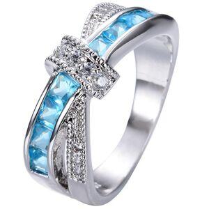 IZMAEL Divine Gyűrű - Ezüst/Türkiz/49,3mm KP2362