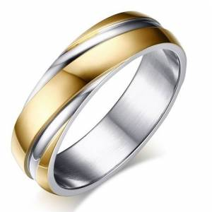 IZMAEL Twist Gyűrű-Arany/55mm KP4896
