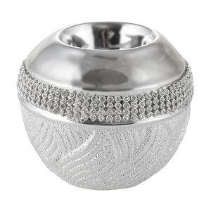 Ezüst gyertyatartó OLSEN 9 cm (gyertyatartó)