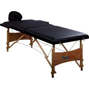 MOVIT Hordozható masszázságy MOVIT® 184 x 70 cm - fekete